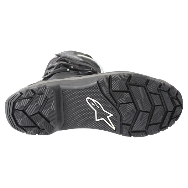 Alpinestars Corozal Drystar Black Adventure Motorcycle Boot Sole