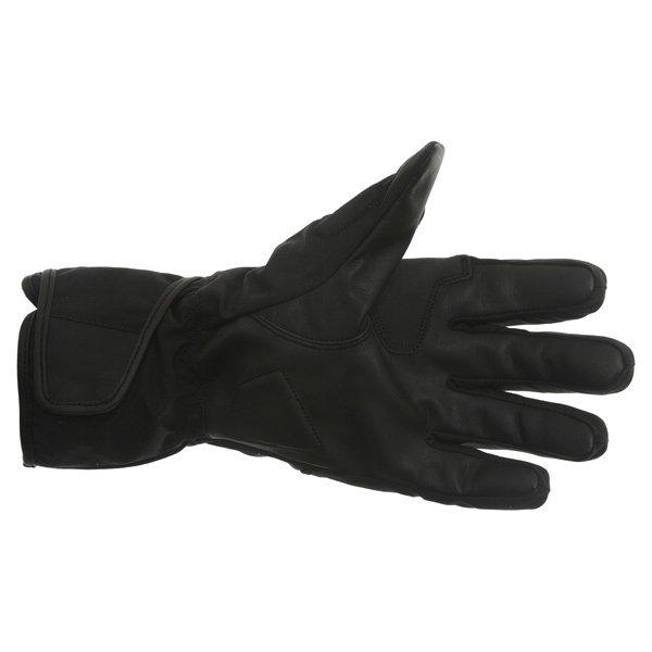 Alpinestars SR-3 Drystar Waterproof Black Motorcycle Gloves Palm