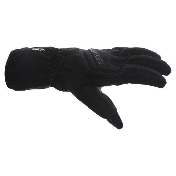 Alpinestars SR-3 Drystar Waterproof Black Motorcycle Gloves Thumb side