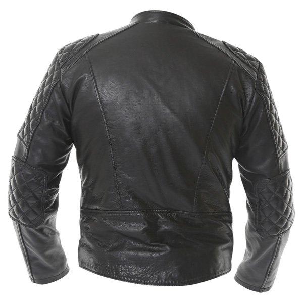 Frank Thomas B5 Black Leather Motorcycle Jacket Back
