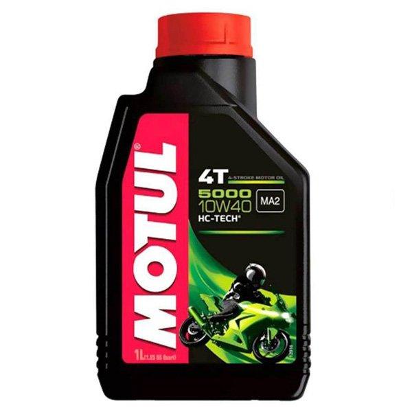 Motul 5000 10W40 4T Semi Synth Motorcycle Oil 1Litre