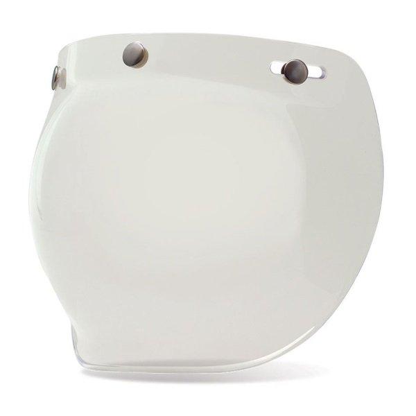 Bell Custom 500 Motorcycle Helmet 3 Snap Clear Bubble Shield
