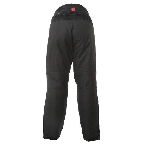 BKS Endeavour Mens Grey Black Textile Motorcycle Trousers Rear