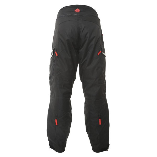 BKS Mercury J2 Mens Black Textile Motorcycle Trousers Rear