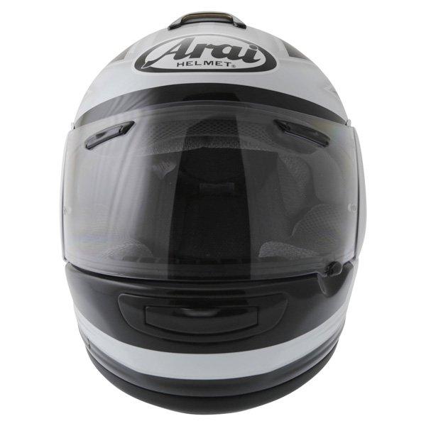 Arai Chaser-V Italia Flag Full Face Motorcycle Helmet Front