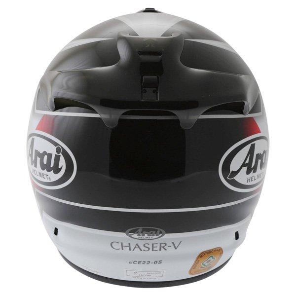 Arai Chaser-V Italia Flag Full Face Motorcycle Helmet Right Side