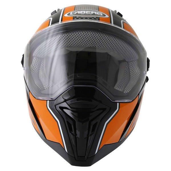 Caberg Stunt Blade Helmet Matt Black Orange Size: M