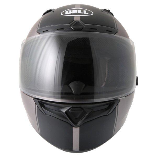 Bell Qualifier DLX Rally Matt Titanium Helmet Front