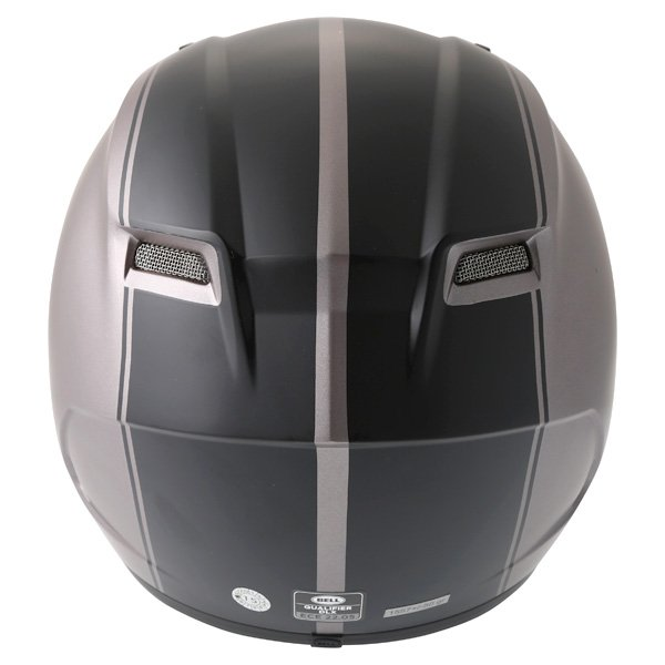 Bell Qualifier DLX Rally Matt Titanium Helmet Back