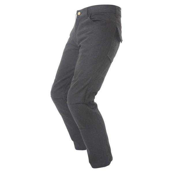 Frank Thomas Aramid Mens Black Cargo Jeans Riding crouch