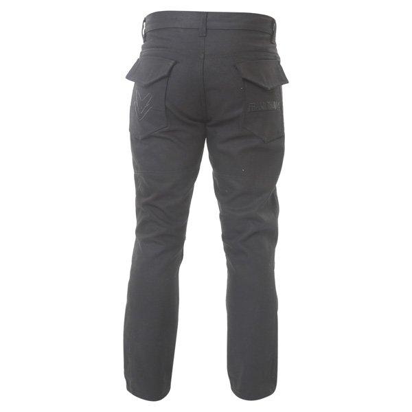 Frank Thomas Aramid Mens Black Cargo Jeans Rear