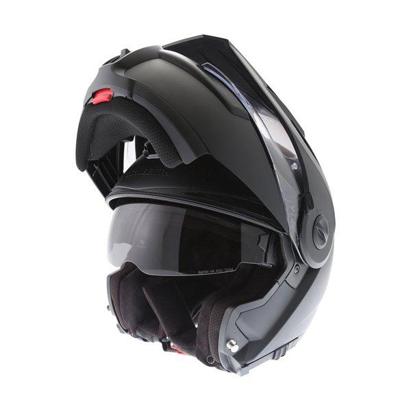 E1 Helmet Matt Black Adventure & Touring Motorcycle Helmets