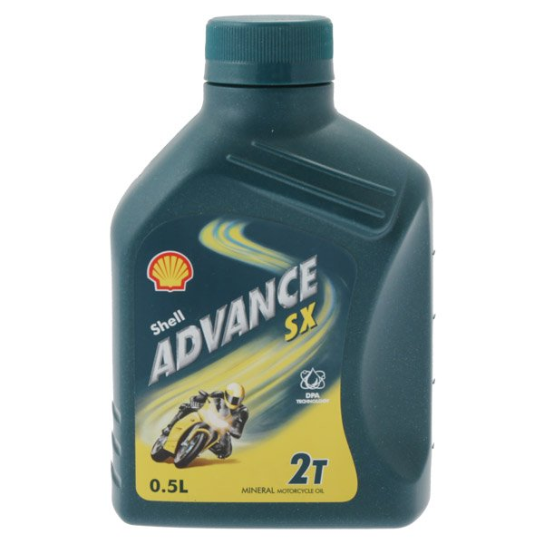 Shell Oil Advanced Sx 2T Motorcycle Oil 500ml