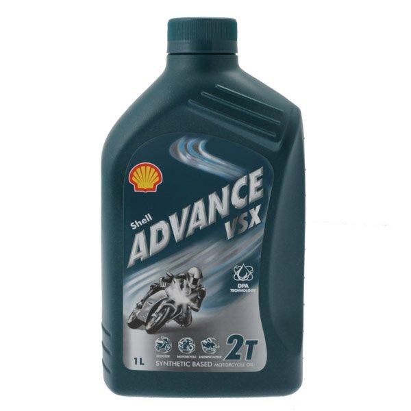 Shell Oil Shell Advance Vsx2 Motorcycle Oil 1Litre