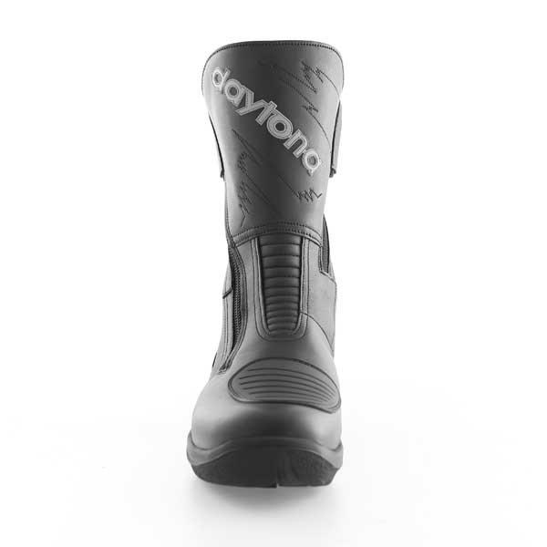 Daytona Roadstar Goretex Black Waterproof Motorcycle Boots Front