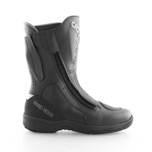 Daytona Roadstar Goretex Black Waterproof Motorcycle Boots Outside leg