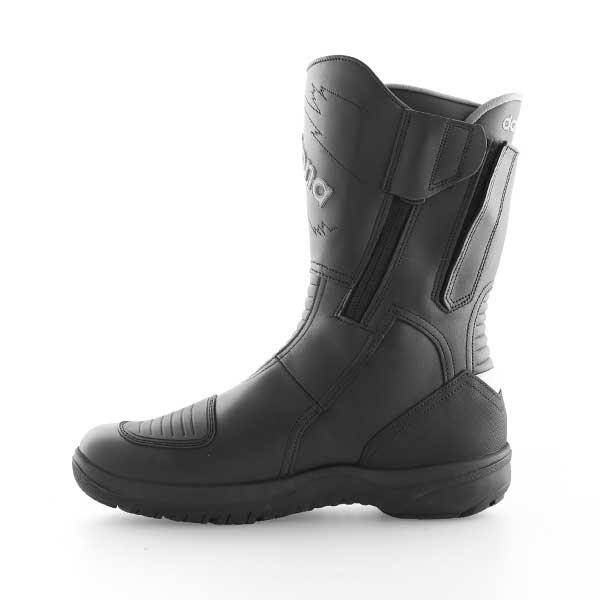 Daytona Roadstar Goretex Black Waterproof Motorcycle Boots Inside leg