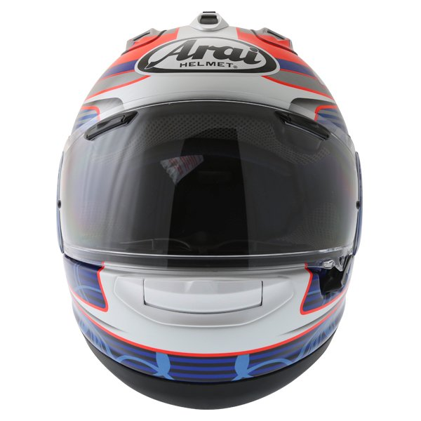 Arai RX-7V Pedrosa Full Face Motorcycle Helmet Front