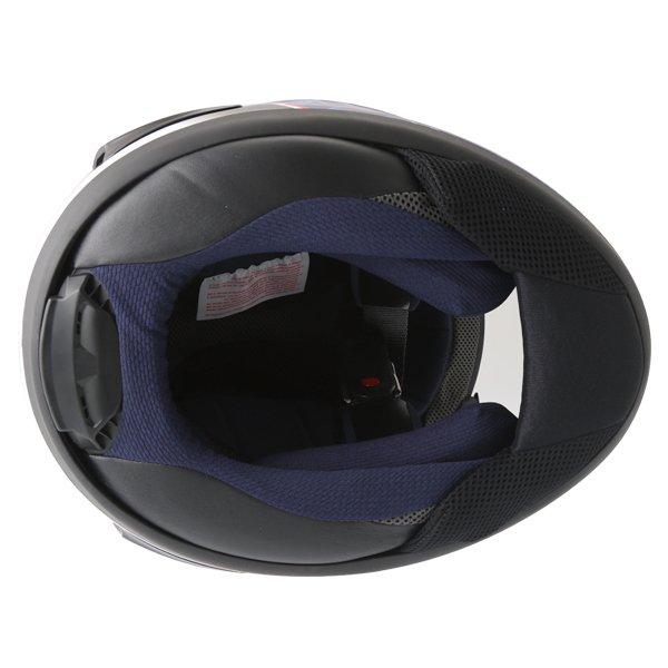 Arai RX-7V Pedrosa Full Face Motorcycle Helmet Inside
