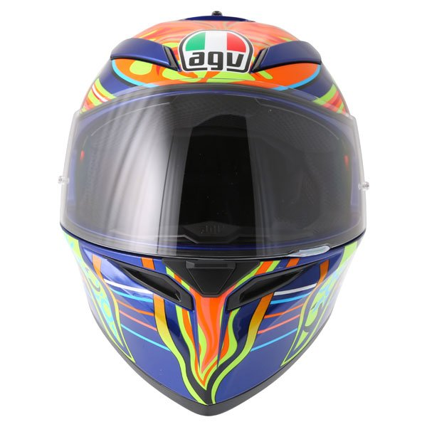AGV K3 SV Valentinoi Rossi 5 Continents Full Face Motorcycle Helmet Front
