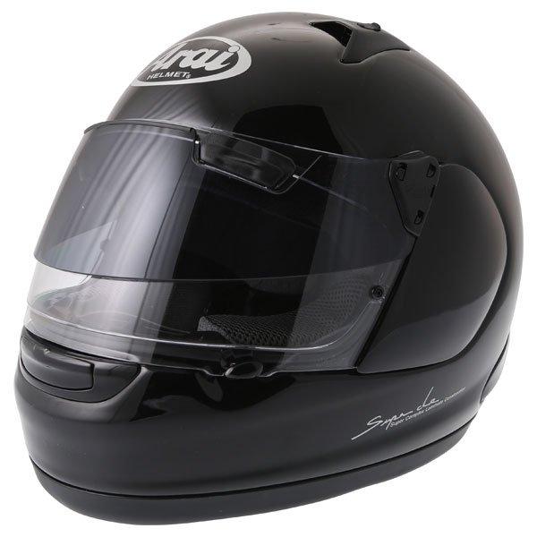 Arai Quantum ST Pro Diamond Black Full Face Motorcycle Helmet Front Left