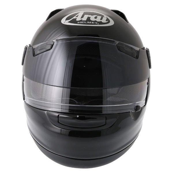 Arai Quantum ST Pro Diamond Black Full Face Motorcycle Helmet Front