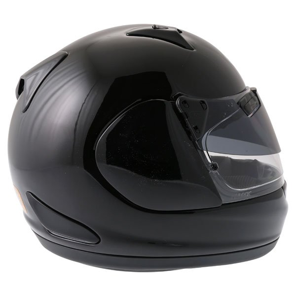 Arai Quantum ST Pro Diamond Black Full Face Motorcycle Helmet Back