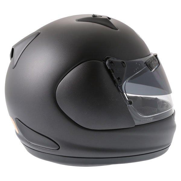 Arai Quantum ST Pro Frost Black Full Face Motorcycle Helmet Right Side