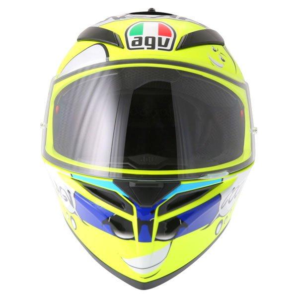 AGV K3 SV Groovy Full Face Motorcycle Helmet Front