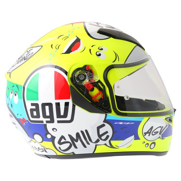 AGV K3 SV Groovy Full Face Motorcycle Helmet Right Side
