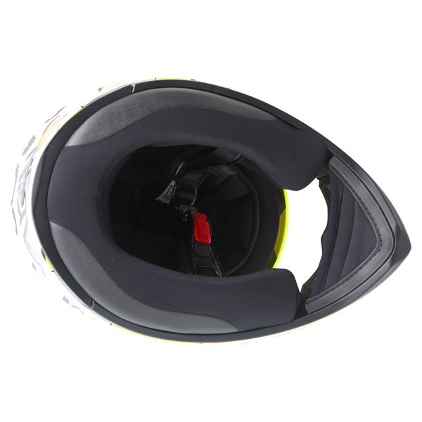 AGV K3 SV Groovy Full Face Motorcycle Helmet Inside