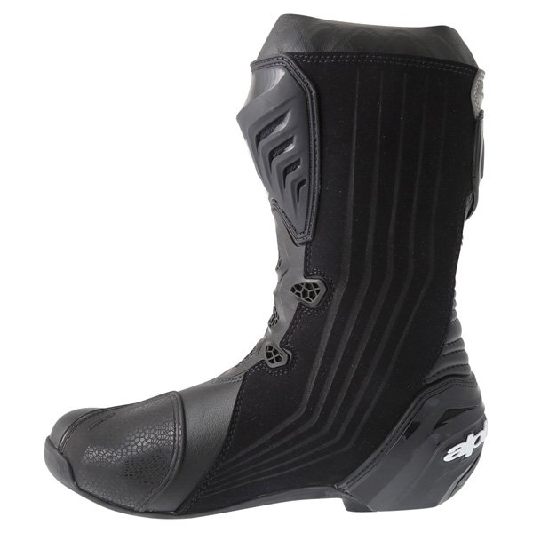 Alpinestars Supertech R 2016 Black Motorcycle Boots Inside leg