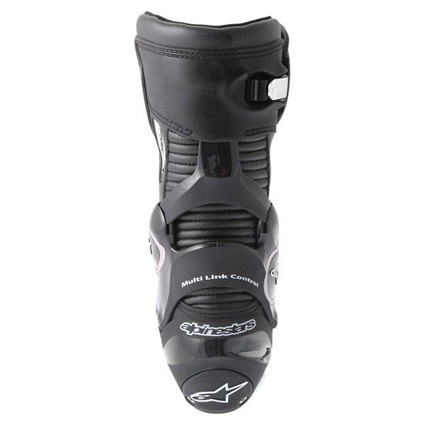 Alpinestars SMX-Plus 2016 Black Motorcycle Boots Heel