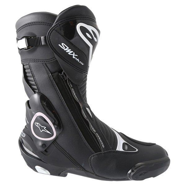 Alpinestars SMX-Plus 2016 Black Motorcycle Boots Outside leg