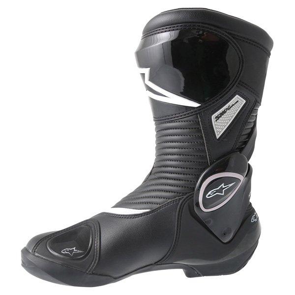 Alpinestars SMX-Plus 2016 Black Motorcycle Boots Inside leg
