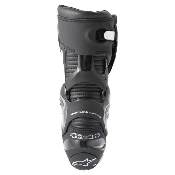 Alpinestars SMX-Plus Goretex Black Waterproof Motorcycle Boots Heel