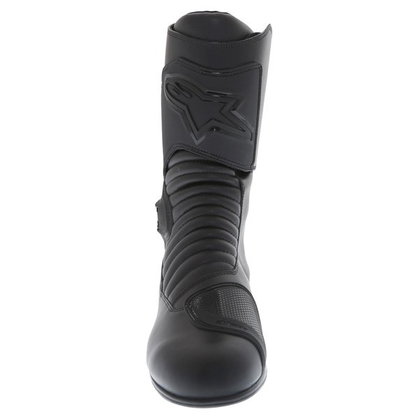 Alpinestars Super Touring Goretex Black Waterproof Motorcycle Boots Front