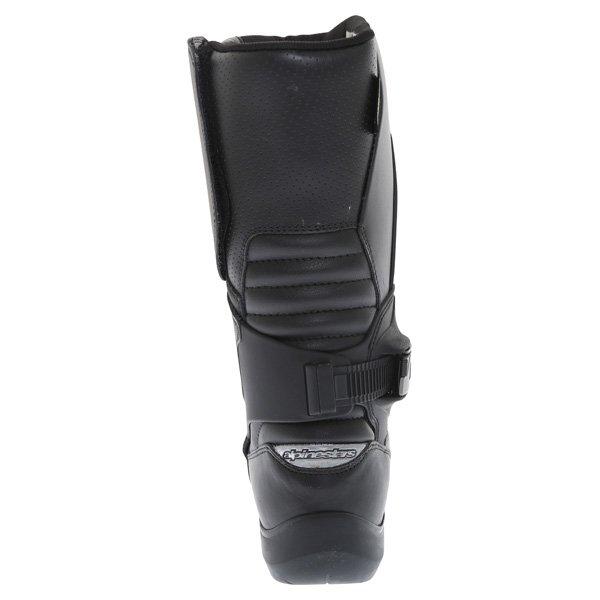 Alpinestars Super Touring Goretex Black Waterproof Motorcycle Boots Heel
