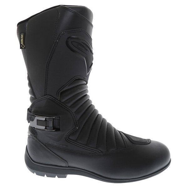 Alpinestars Super Touring Goretex Black Waterproof Motorcycle Boots Outside leg