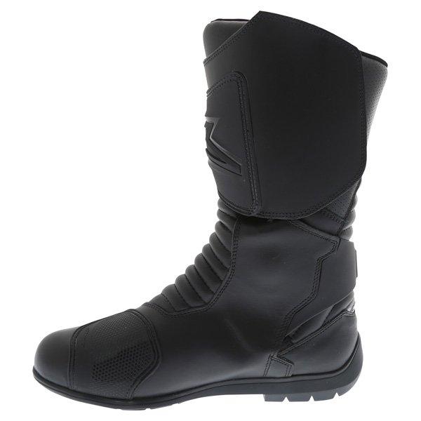 Alpinestars Super Touring Goretex Black Waterproof Motorcycle Boots Inside leg
