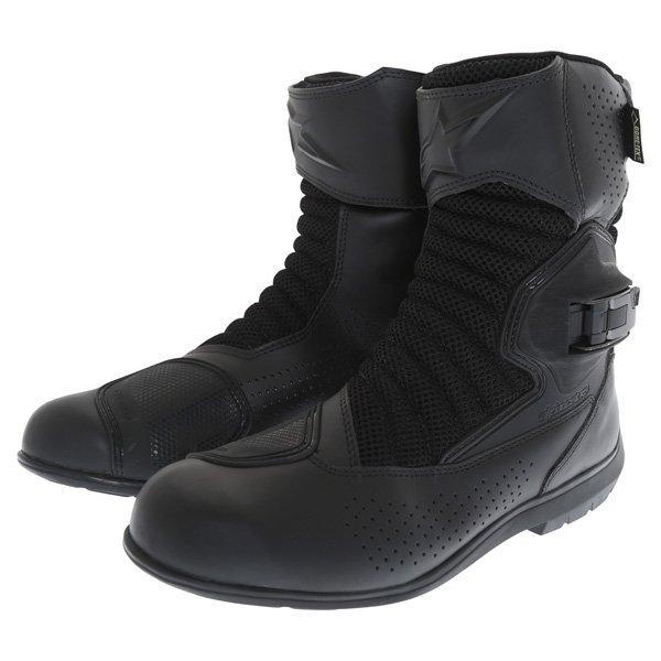 Alpinestars Multiair XCR Goretex Black Waterproof Motorcycle Boots Pair
