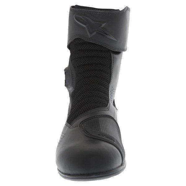 Alpinestars Multiair XCR Goretex Black Waterproof Motorcycle Boots Front