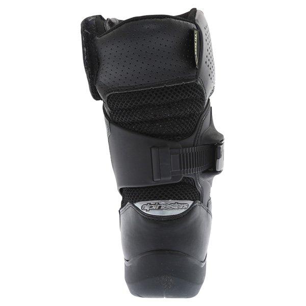 Alpinestars Multiair XCR Goretex Black Waterproof Motorcycle Boots Heel