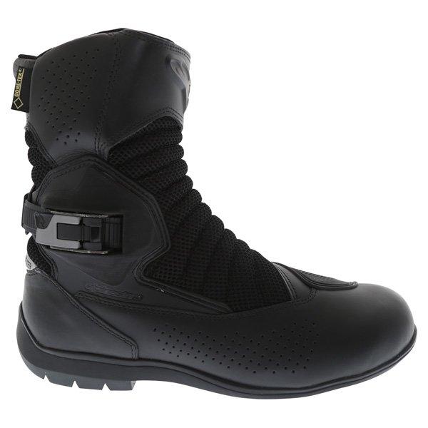 Alpinestars Multiair XCR Goretex Black Waterproof Motorcycle Boots Outside leg