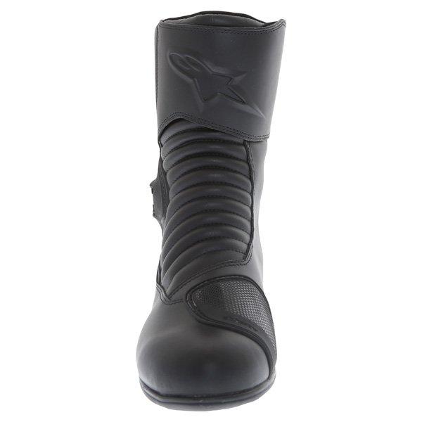 Alpinestars Mono Fuse Goretex Black Waterproof Motorcycle Boots Front