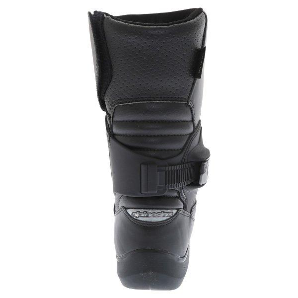 Alpinestars Mono Fuse Goretex Black Waterproof Motorcycle Boots Heel
