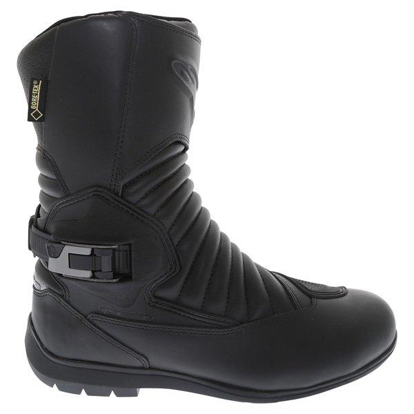 Alpinestars Mono Fuse Goretex Black Waterproof Motorcycle Boots Outside leg