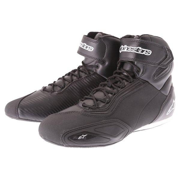 Alpinestars Faster-2 Pair Black Motorcycle Shoes