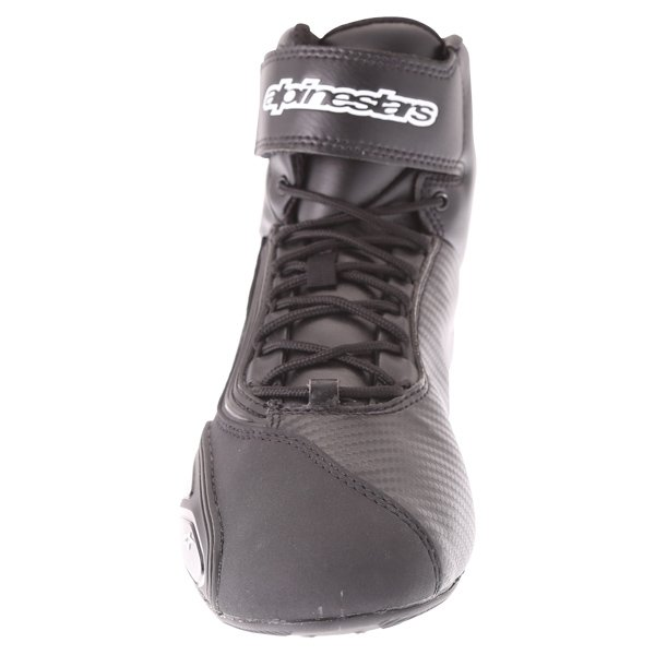 Alpinestars Faster-2 Black Motorcycle Shoes Front