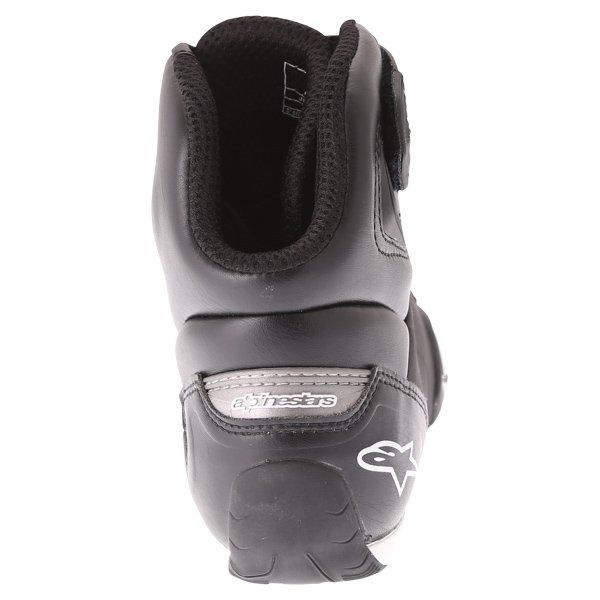 Alpinestars Faster-2 Black Motorcycle Shoes Heel